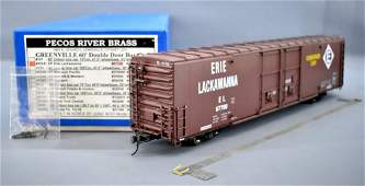 Pecos River O scale brass factory painted Erie