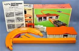Hot Wheels Redline Super Charger Sprint Set in box
