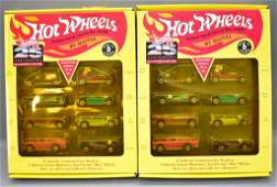 Group of two Hot Wheels 25th Anniversary Series 1 Sets