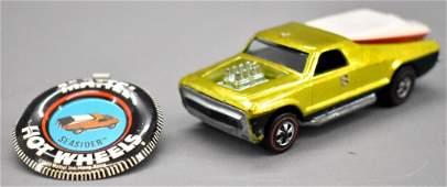 Redline Hot Wheels yellow US Seasider with original