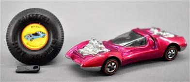 Redline Hot Wheels rose US Mod Quad with original