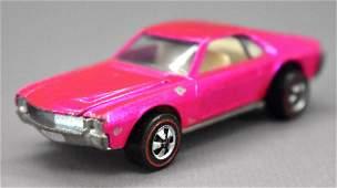 Redline Hot Wheels pink US Custom AMX
