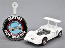 Redline Hot Wheels enamel white US Chaparral with