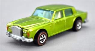 Fantastic Redline Hot Wheels lime HK Rolls Royce Silver