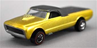 Redline Hot Wheels gold US Custom Fleetside