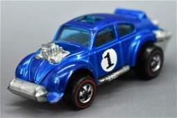 Redline Hot Wheels blue HK Evil Weevil