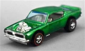 Redline Hot Wheels green HK King Kuda