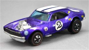Redline Hot Wheels purple HK Heavy Chevy