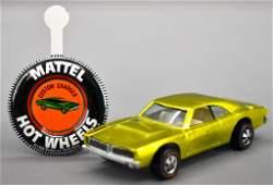 Redline Hot Wheels lime US Custom Charger with original