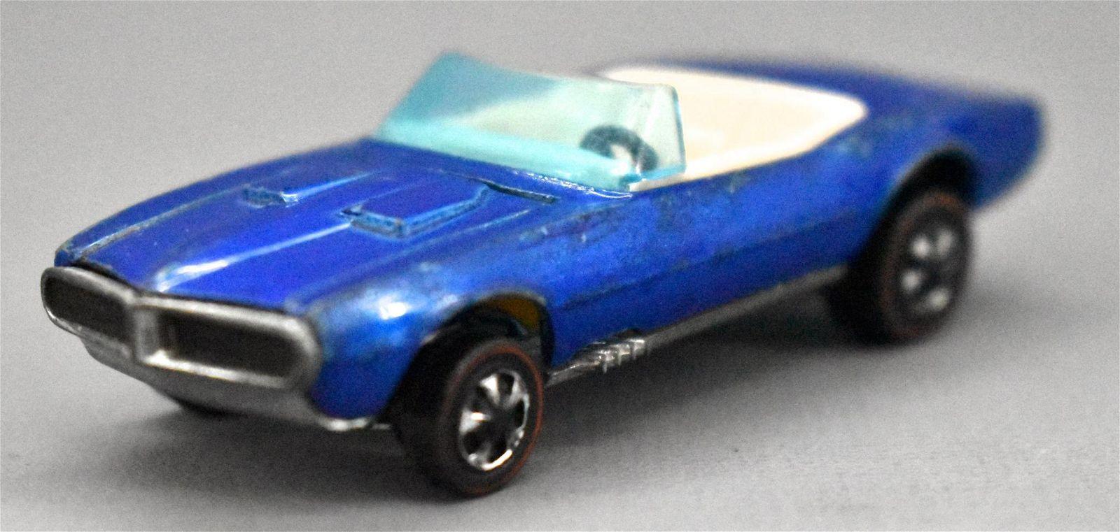 Redline Hot Wheels blue HK Custom Firebird