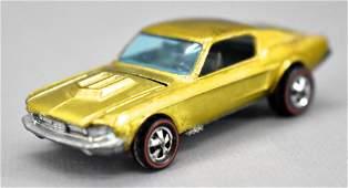 Redline Hot Wheels gold HK Custom Mustang