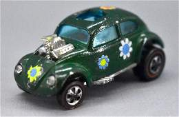 Redline Hot Wheels enamel green HK Custom Volkswagen