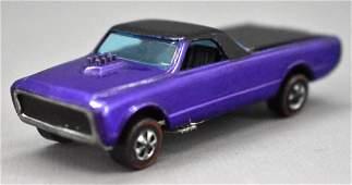 Redline Hot Wheels purple HK Custom Fleetside