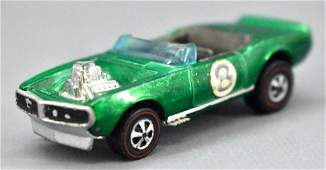 Redline Hot Wheels green HK Light My Firebird