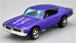 Redline Hot Wheels purple HK Custom Barracuda with
