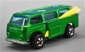 Redline Hot Wheels green HK Volkswagen Beach Bomb