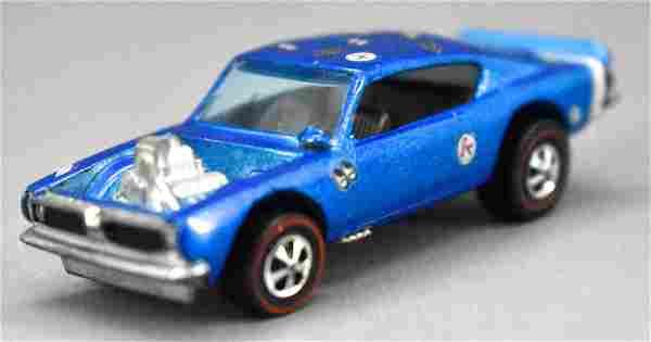 Redline Hot Wheels blue HK King Kuda with slag