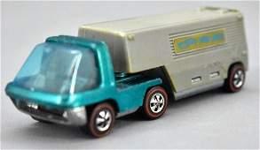 Redline Hot Wheels aqua HK Heavyweights Van Lines semi