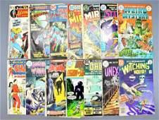 Fourteen DC bronze age horror and superhero comics