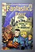 Marvel Fantastic Four 45 silver age comic 1st Inhumans