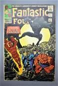 Marvel Fantastic Four 52 1st Black Panther silver age