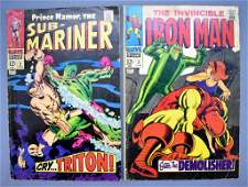Marvel Iron Man and The SubMariner 2 silver age