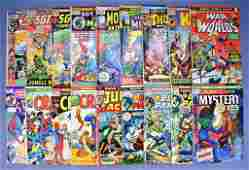 Mixed group of 18 Marvel bronze age comic books