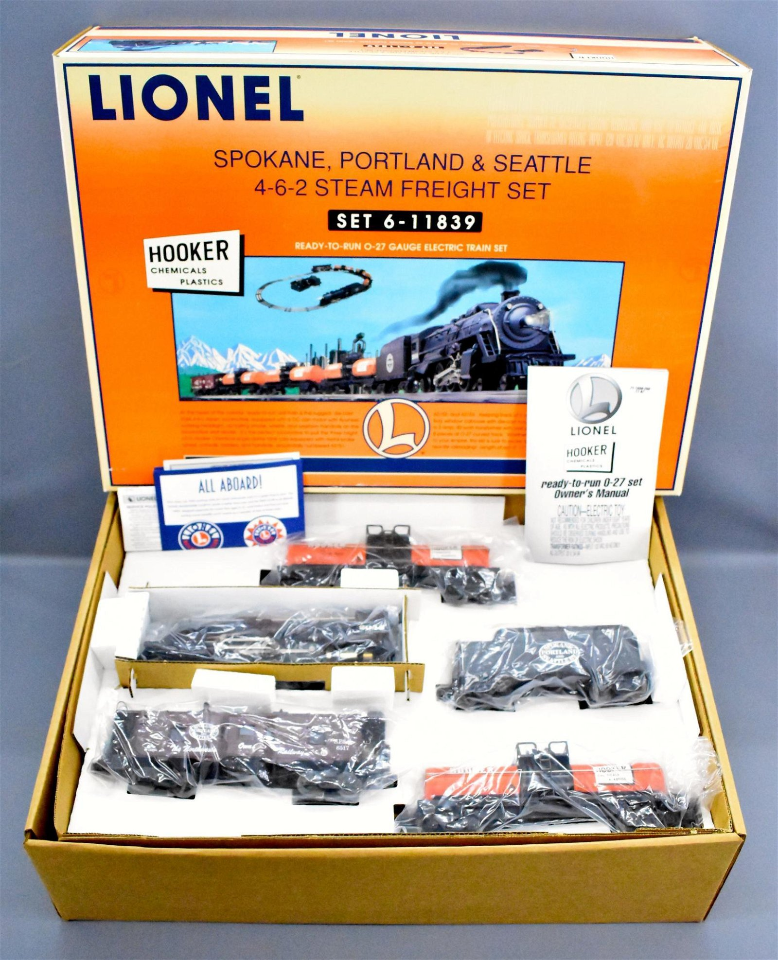 Lionel modern era O 11839 Spokane Portland and Seattle