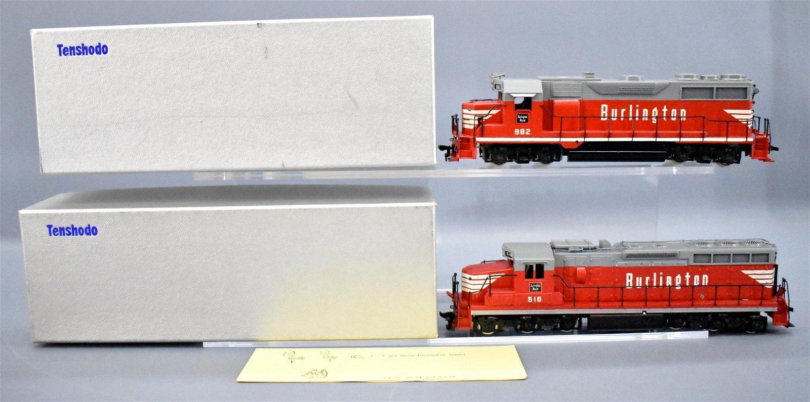 Tenshodo HO scale brass Burlington SD-24 GP-35 diesel