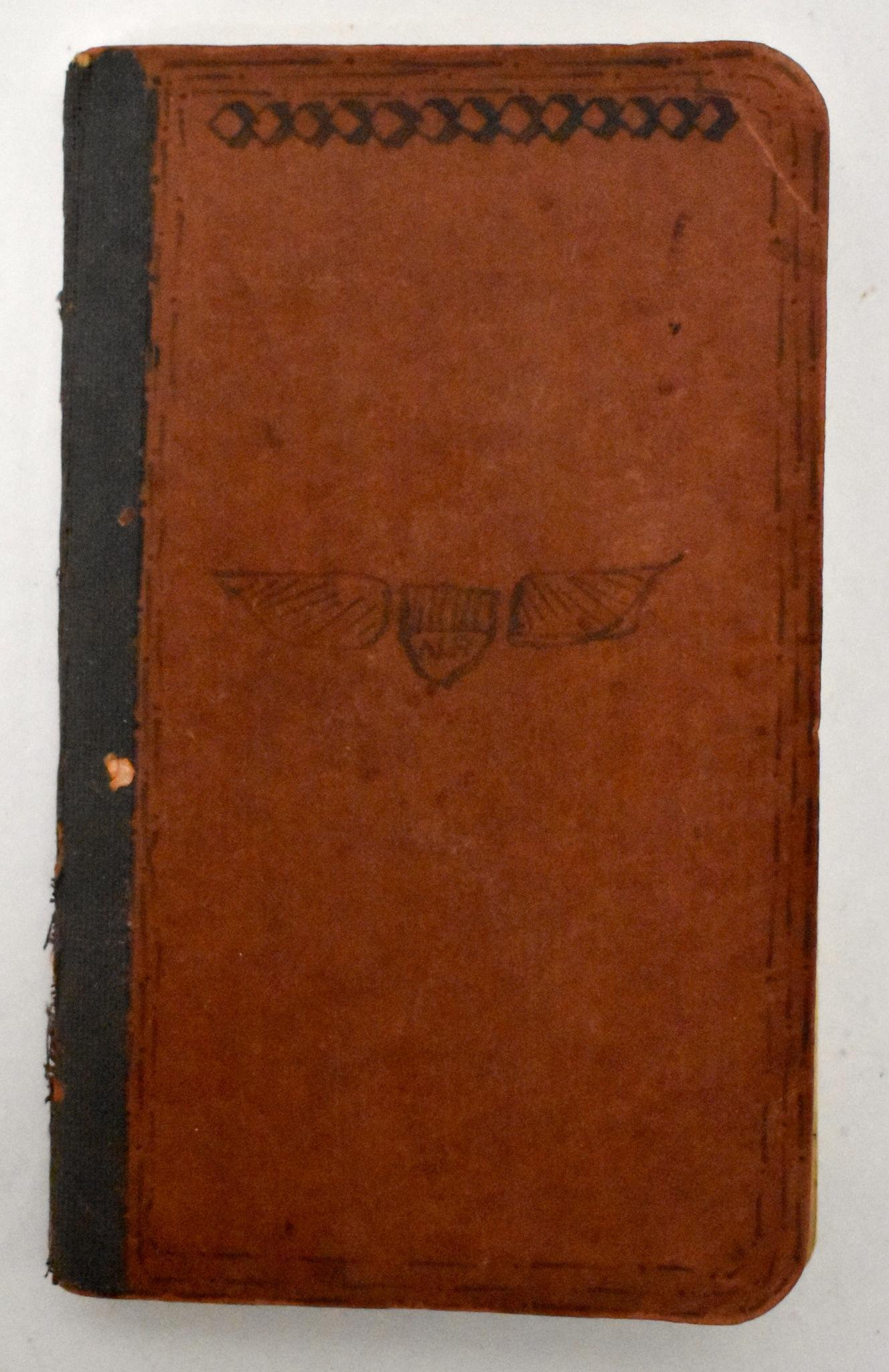 Rare WWI US Pilots Notebook 11th Squadron 1st Lt.