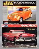 Two Ford street rod classic model car kits in original