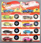 Eight Hot Wheels vintage series Classic Nomad MOC