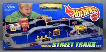 Factory sealed 1997 Hot Wheels Super Street Traxx set