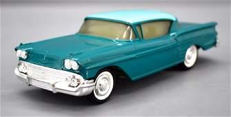 1958 Chevrolet Impala Hard Top dealer promo car bank in