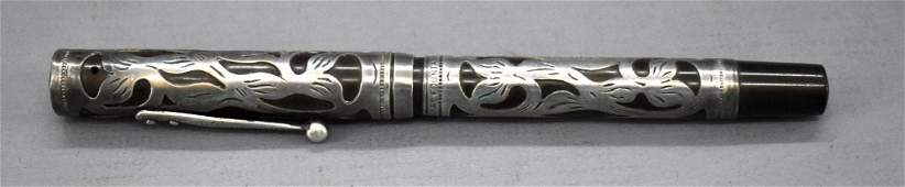 Vintage Watermans Ideal fountain pen with sterling