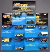 Five Hot Wheels 20th anniversary special collectors