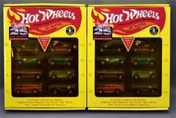 Two Hot Wheels 25th anniversary Series 1 sets MIB