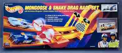 Hot Wheels 25th anniversary Mongoose and Snake Drag Set