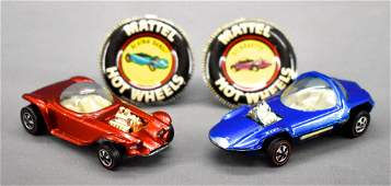 Redline Hot Wheels US Silhouette and Beatnik Bandit