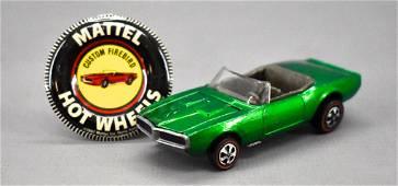 Redline Hot Wheels green US doorline Custom Firebird