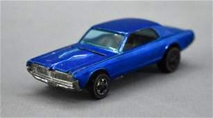 Redline Hot Wheels blue HK Custom Cougar