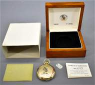 Colibri Swiss 17 jewel Disney Mickey Mouse pocket watch