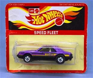 India Leo Mattel Hot Wheels Speed Fleet Purple Turbo