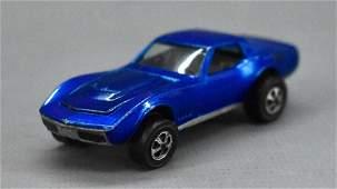 Hot Wheels Redline Blue US Custom Corvette