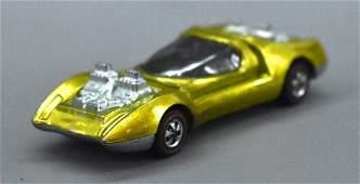 Hot Wheels Redline Yellow Mod Quad