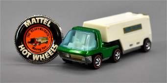 Hot Wheels Redline HeavyWeights Green Van Lines