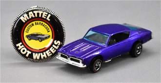 Hot Wheels Redline HK Purple Custom Barracuda with