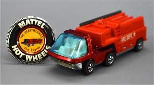 Hot Wheels Redline Heavyweights Fire Truck with Button