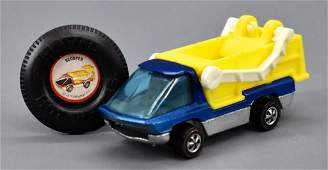 Hot Wheels Redline Heavyweights Blue Scooper Truck with