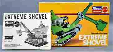 Empty Monogram Extreme Shovel model kit original box